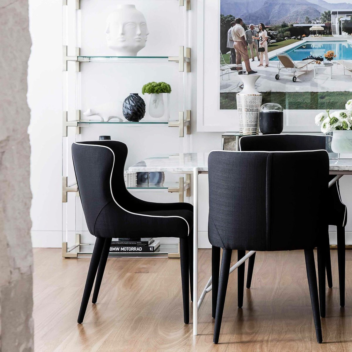 Coco Republic On Twitter A Buyer Favourite The Markson Dining Chair Is Available In Black Ivory And Grey Cocorepublic Interiors