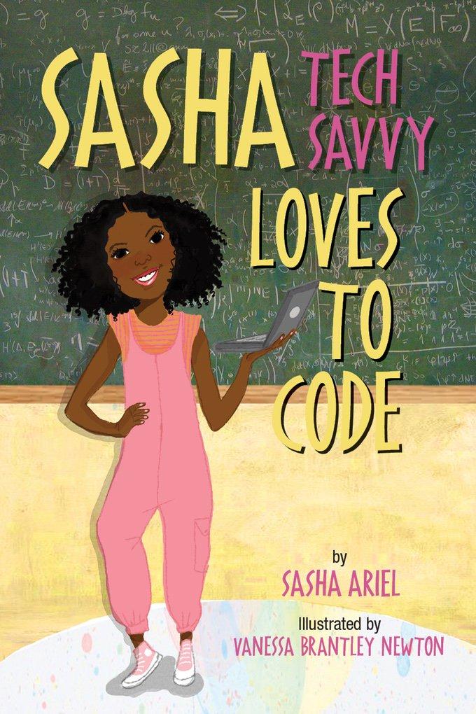 Tonight we will be chatting with @TheStemQueen, author of Sasha Tech Savvy Loves to Code! #B4RTalks #womeninSTEM #GirlsInSTEM https://t.co/JfjHDxeX0l