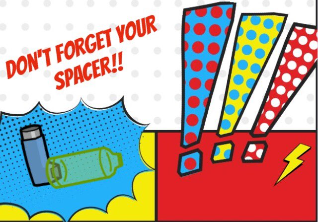 Without your #superspacer you won&#39;t get the right amount of medication so make sure you use it #every time<br>http://pic.twitter.com/2AWJRzAOjr
