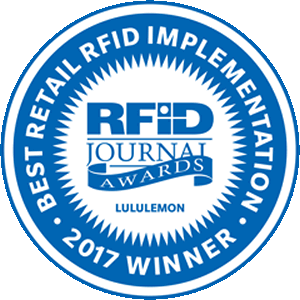 Congrats to @lululemon for being honored with a &quot;Best Retail RFID Implementation&quot; industry award at #RFIDLIVE  http:// bit.ly/2rniEEj  &nbsp;  <br>http://pic.twitter.com/BExahRmH57