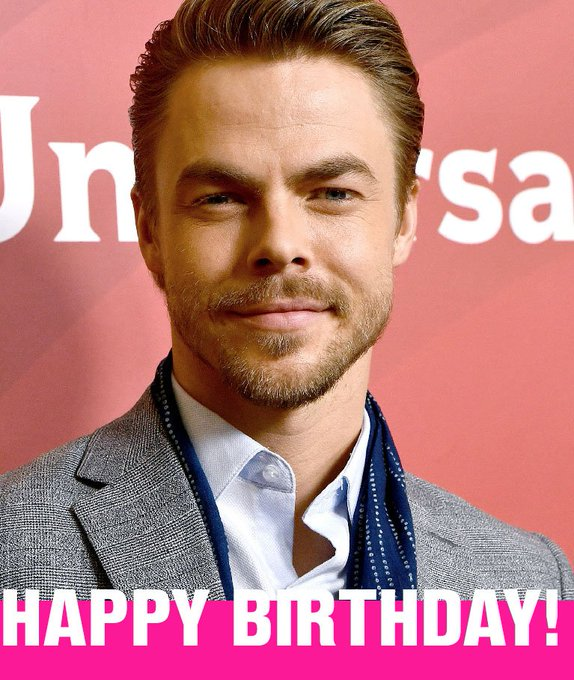 Happy Birthday, Derek Hough!