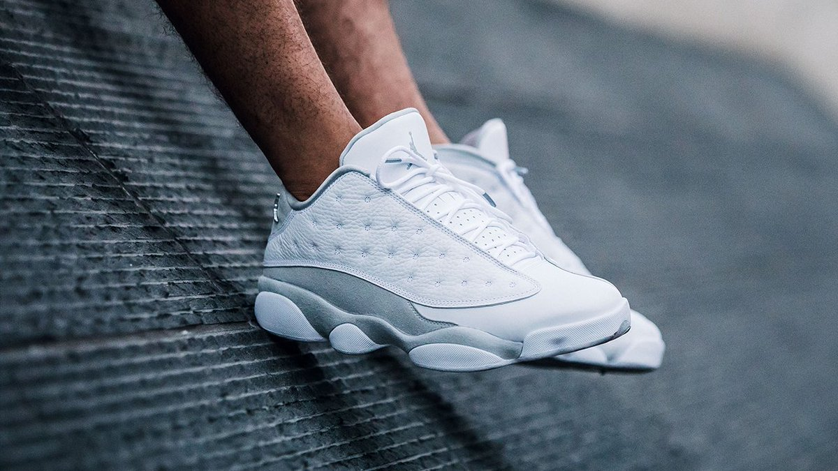a07019adc26395 ... canada the airjordan xiii retro low pure platinum drops saturday t.co  dirpgbs6fp.u2026