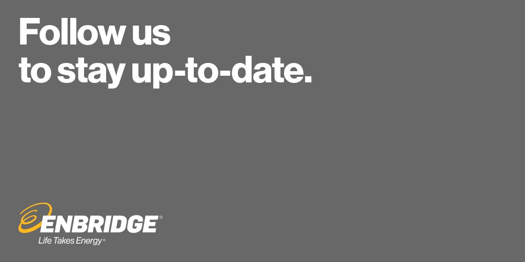 We're closing this account soon. Follow @Enbridge for updates & more https://t.co/BADAZzlozn