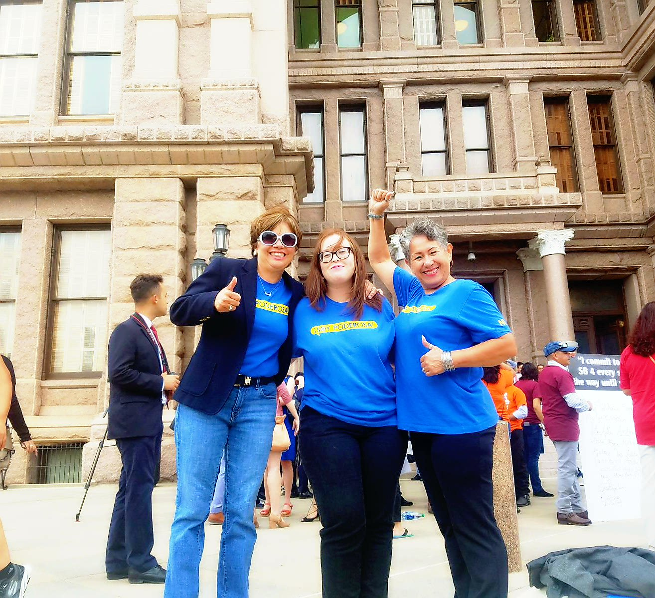 Today we joined coalition partners and cities across TX, repping the Rio Grande Valley,to fight against  racist #SB4 bill #SB4IsHate #RGV https://t.co/oL6Bku5Qi9