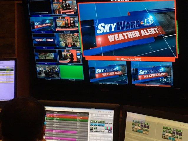 Skywarn 13 Weather Alert On Weau 13 Now Tormado Warning In Barron
