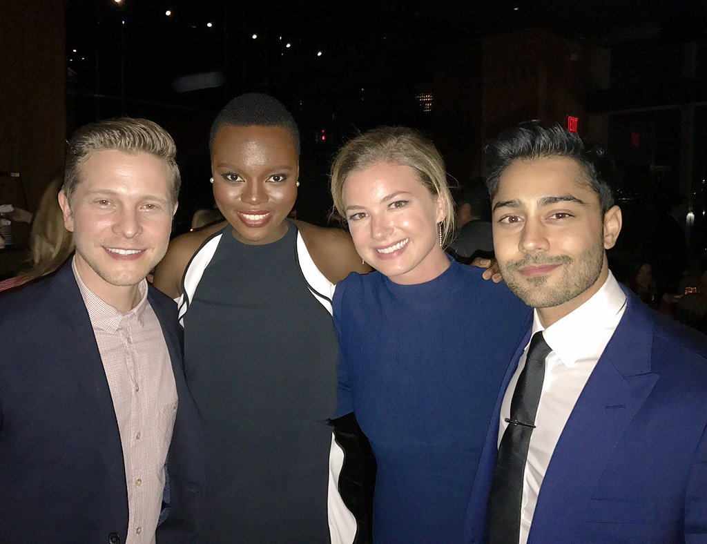 The @ResidentFOX journey has begun with these great people. Meet the cast of #TheResident. Here we go! @FOXTV