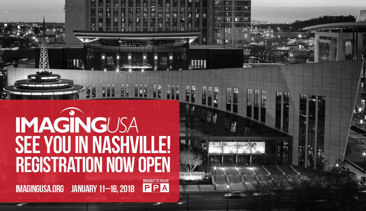 Registration is open for @ImagingUSA 2018! We're heading to Nashville; get your badge today! https://t.co/uJwaLVkNpe https://t.co/iac9HLh0vD