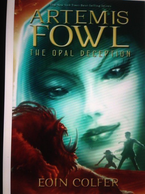 Happy Birthday Eoin Colfer! This is book four in the Artemis Fowl series! Have you read it yet?
