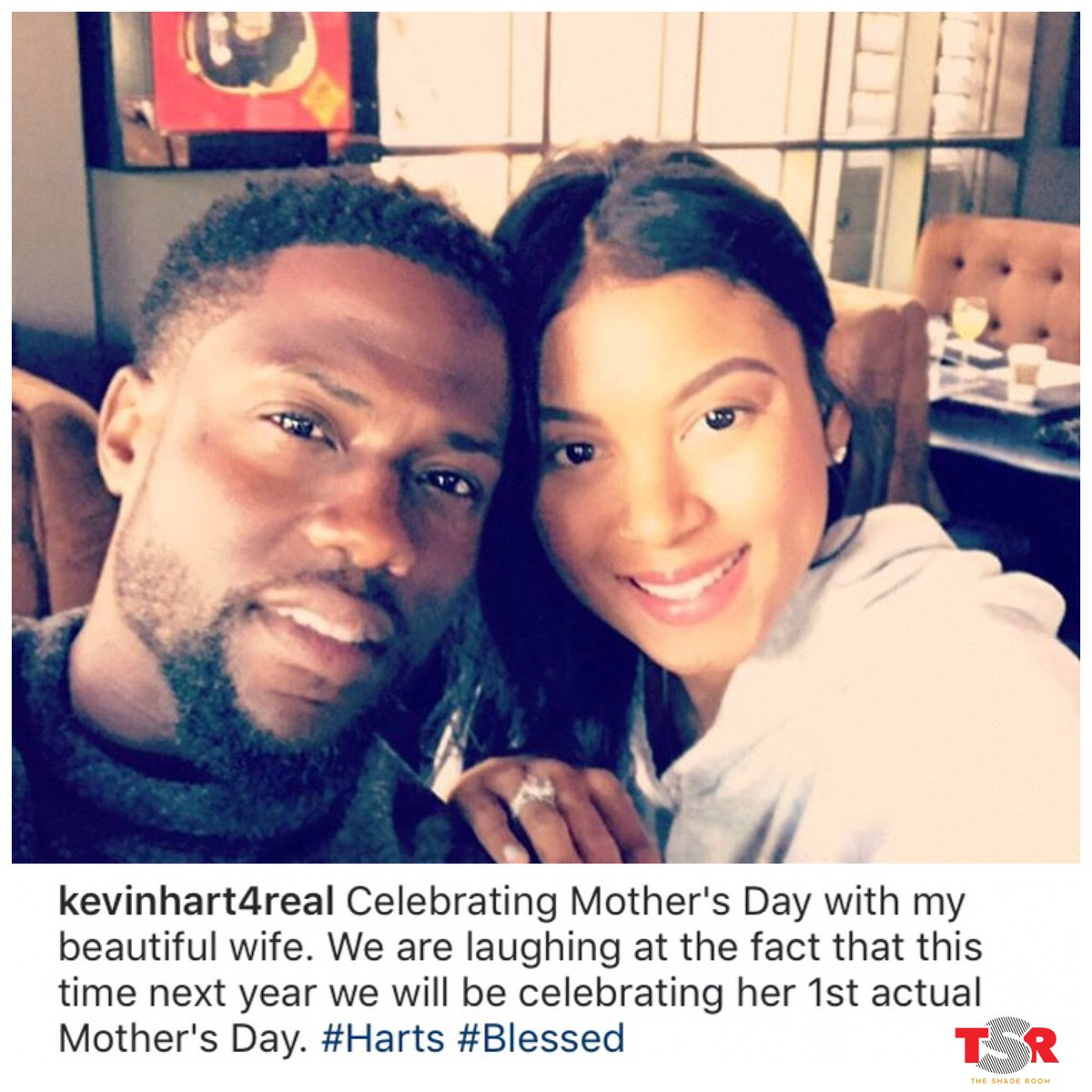 Congrats to #KevinHart and his wife! They're expecting their first child together! #ItsABoy