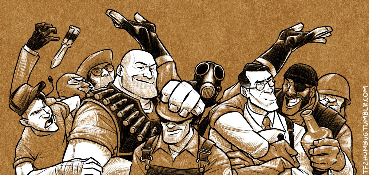 I made another #TF2 thing, a header for my blog. I should really do something else today. https://t.co/lliyPJsBwr