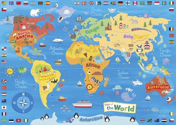 CRCiencia on Twitter Mapamundi  100 mapas del mundo para