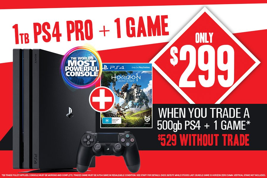 Eb Games Australia On Twitter Experience The Power Of The Playstation 4 Pro With These Awesome Deals Check Them Out Https T Co Zpd0giamvl