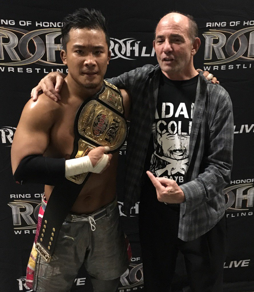 A shocking upset for ROH TV belt @njpwglobal @ringofhonor @MartyScurll #WatchROH https://t.co/mBTmHx5nFe