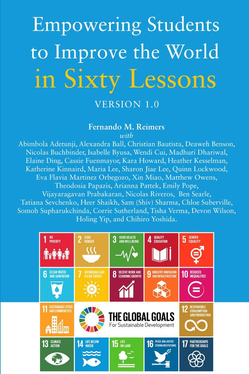 If the world were a village of 100 people lesson plan - Book Empowering Students To Improve The World In 60 Lessons Harvard S Fernando Reimers