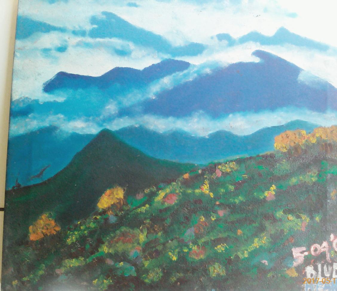 putri nurindah on twitter lukisan dulu bgt dari tk selalu lukis gunung berbeda dengan mama yg senang melukis pantai