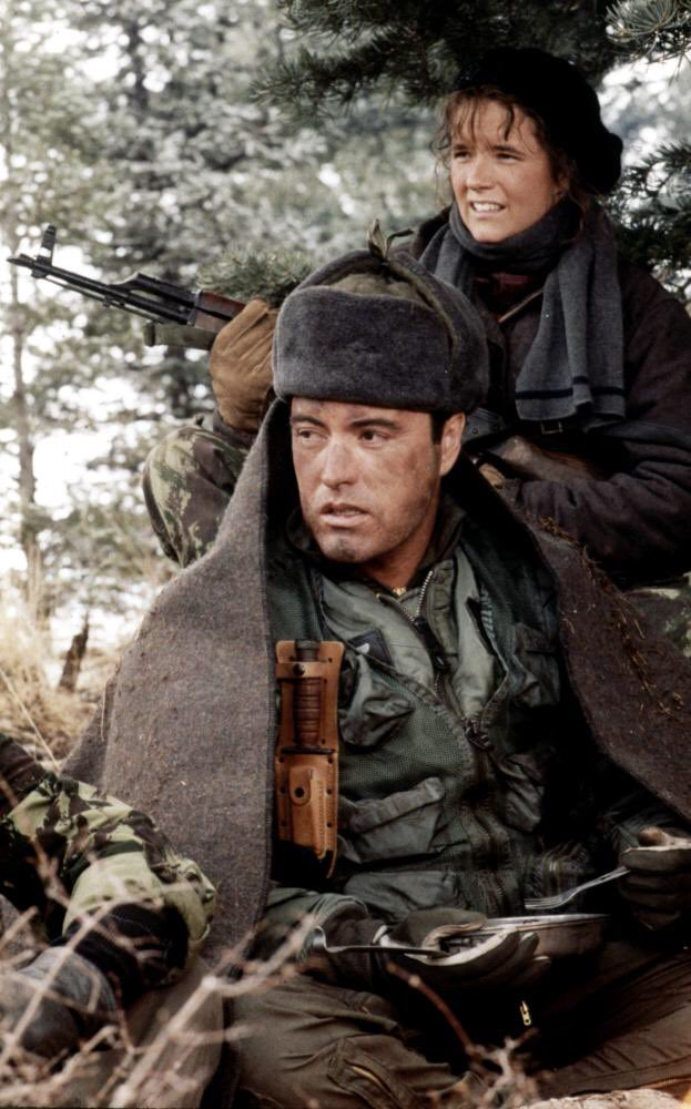 I loved acting with you #powersboothe you were a gentlemen and a great actor #rip #RedDawn #Wolverines https://t.co/h2LFCzTDq2