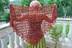 Шали схемы вязание на спицах