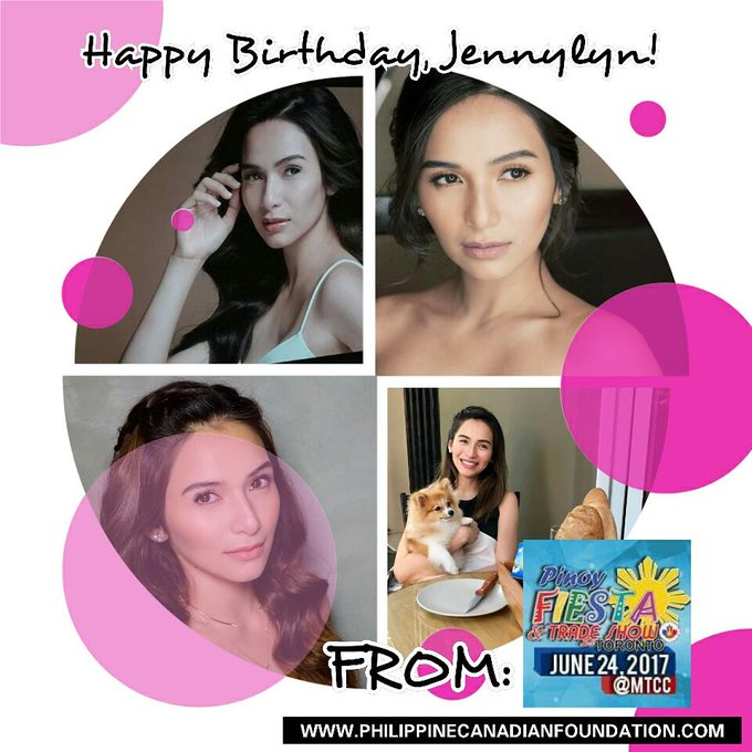 Happy Birthday to Jennylyn Mercado! We are excited to see you here at the on June 24, 2017!