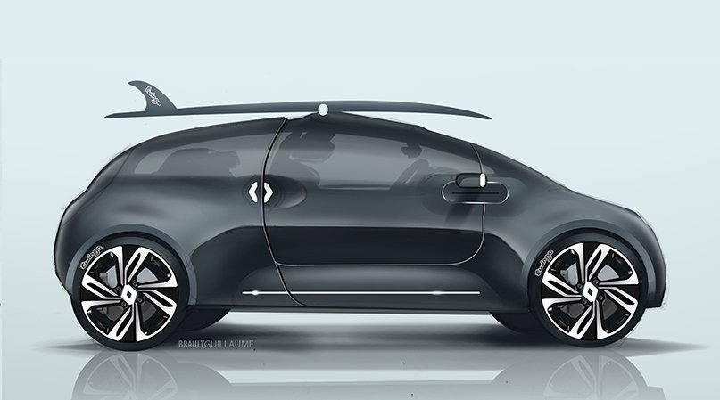 Renault Twingo by Guillaume Brault #renault #twingo #car #auto #design #cardesign #ride #drive #automotive  #french #voiture #voitures<br>http://pic.twitter.com/AvjnOOzquv