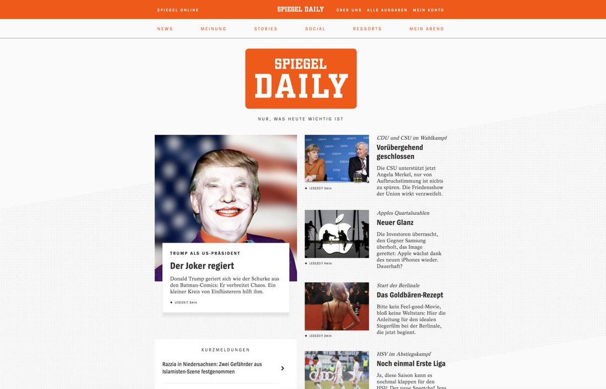 Spiegel daily news informationen und aktuelles in for Spiegel daily