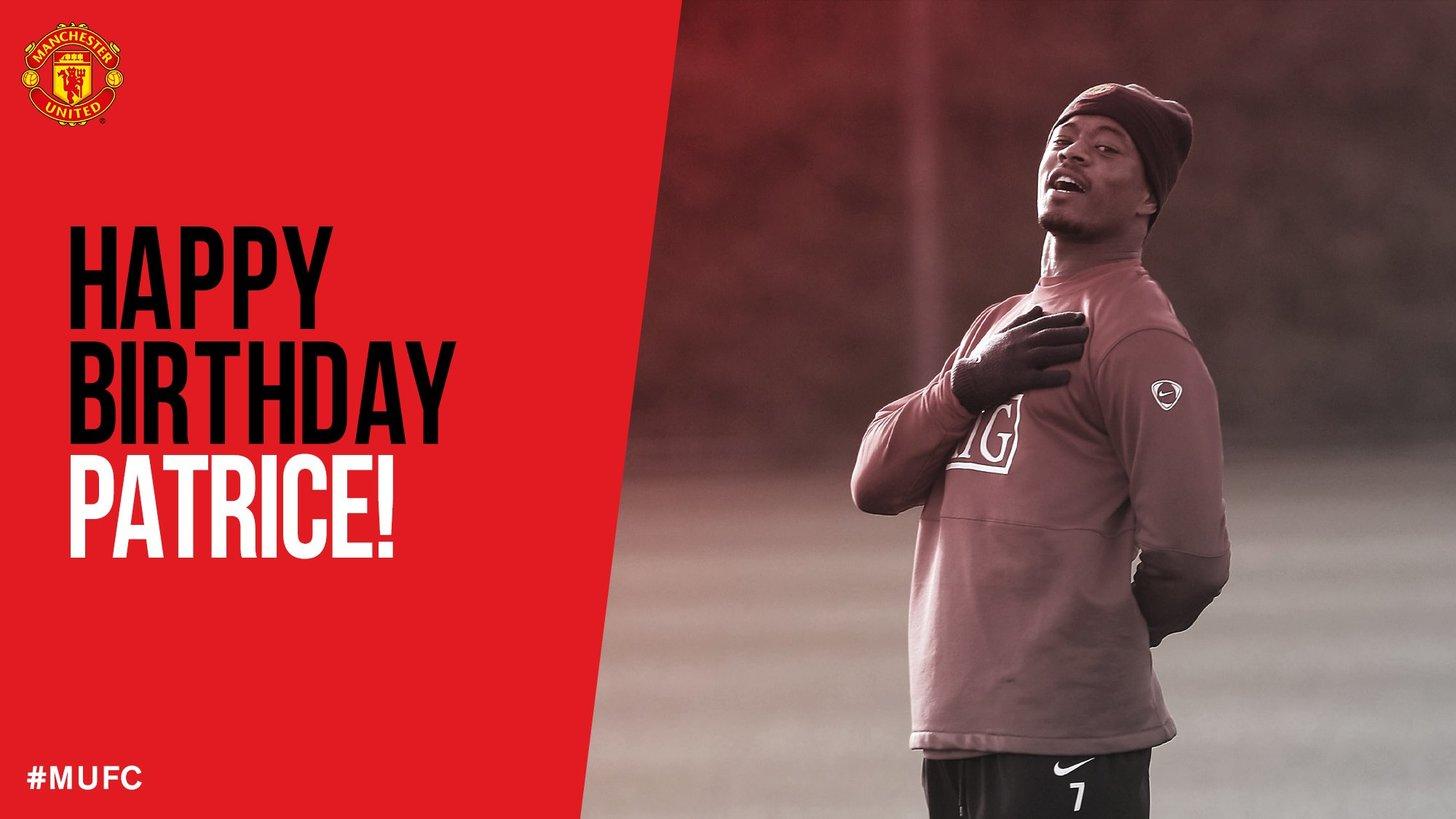 Remessageed Devils Latest ( Happy Birthday, Patrice Evra!