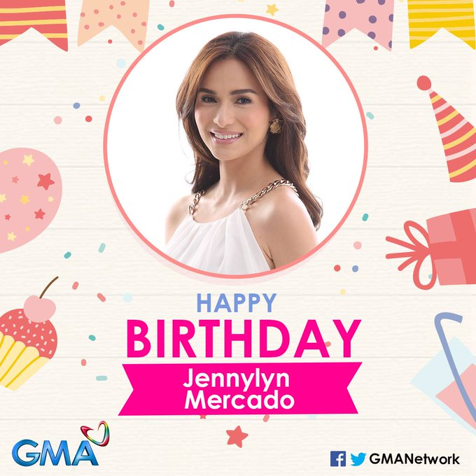 Happy birthday to the beautiful and talented Jennylyn Mercado!