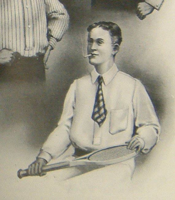 kit from a 1910 trade catalogue (cigarette optional).   Wishing a happy birthday to