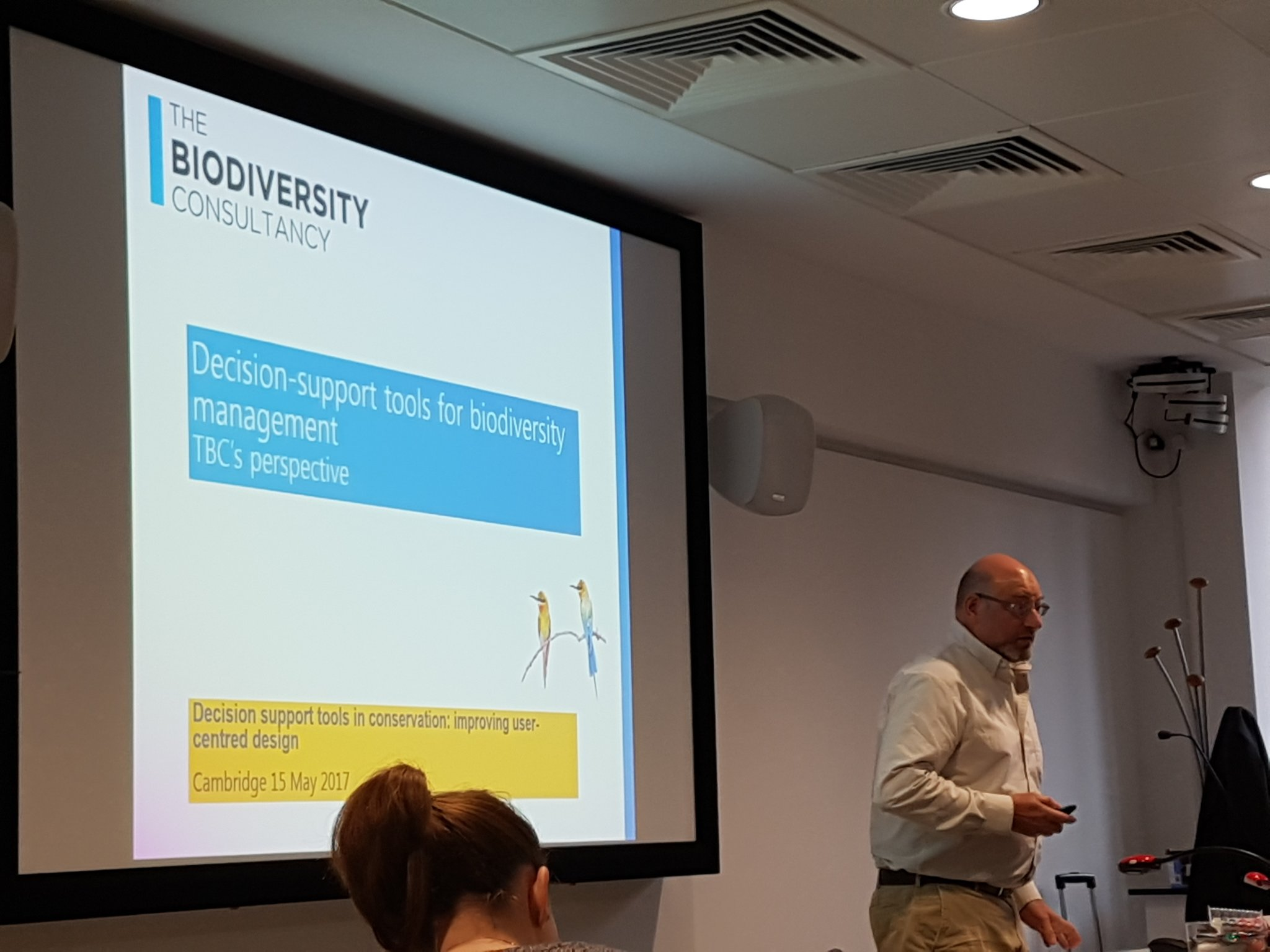 How do practitioners use support tools in decision making? We're hearing from The Biodiversity Consultancy now #ConservationDecisions https://t.co/oJJPILP8i5