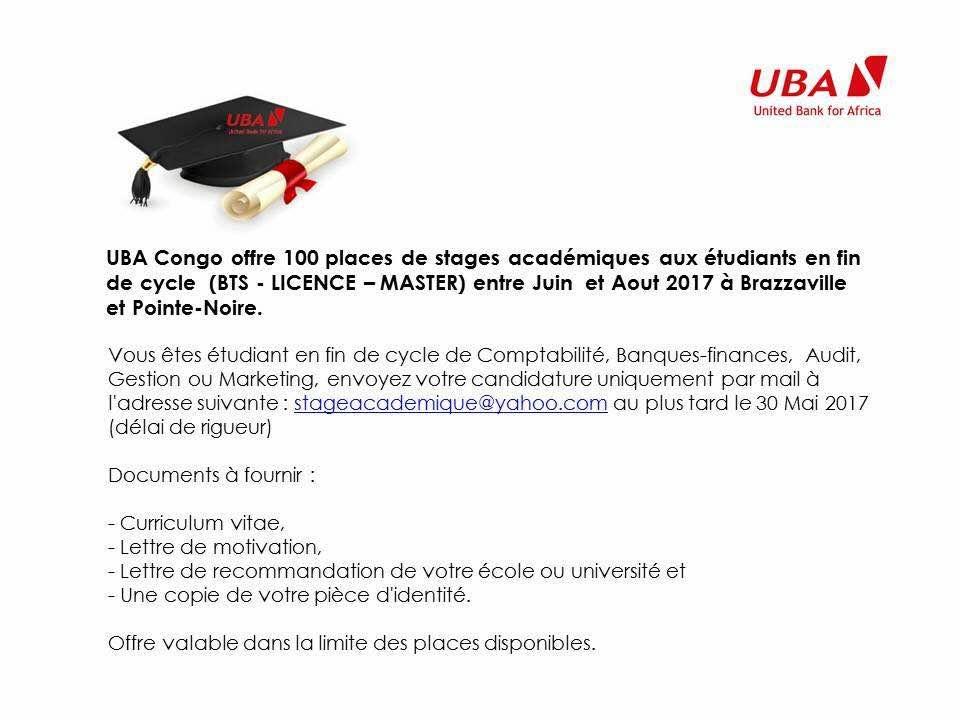#chezmoiaucongo UBA stage