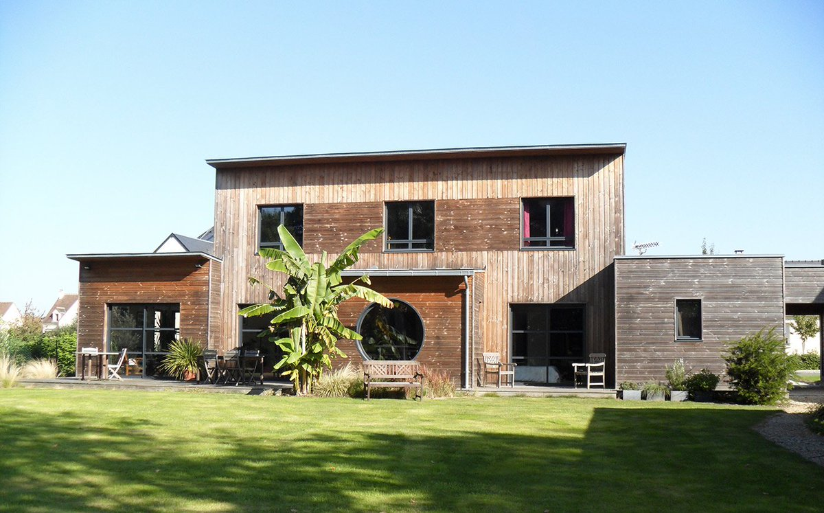 Constructeur maison bois ouest for Constructeur maison 42