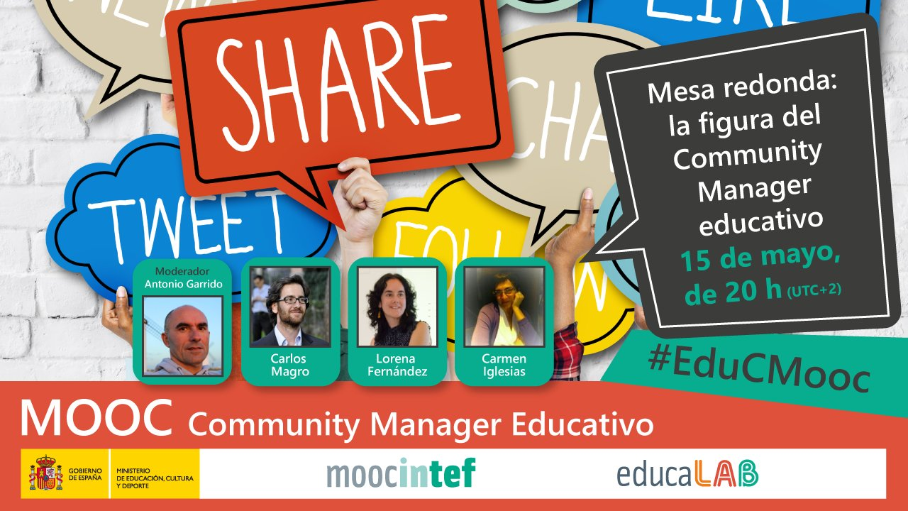 Thumbnail for Mesa redonda: La figura del Community Manager Educativo