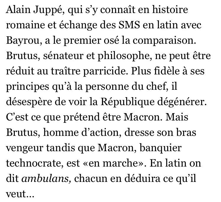 C'est le moment de capturer les écrits d'Edouard Philippe sur #Macron, ce 'banquier technocrate', en cas de suppression malencontreuse 😁📲💽