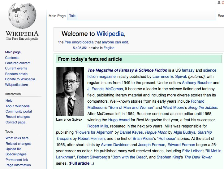 Wikipedia's article on The Magazine of Fantasy & Science Fiction