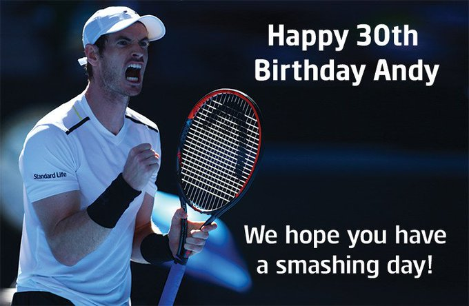 Happy 30th Birthday We hope you have a smashing day!