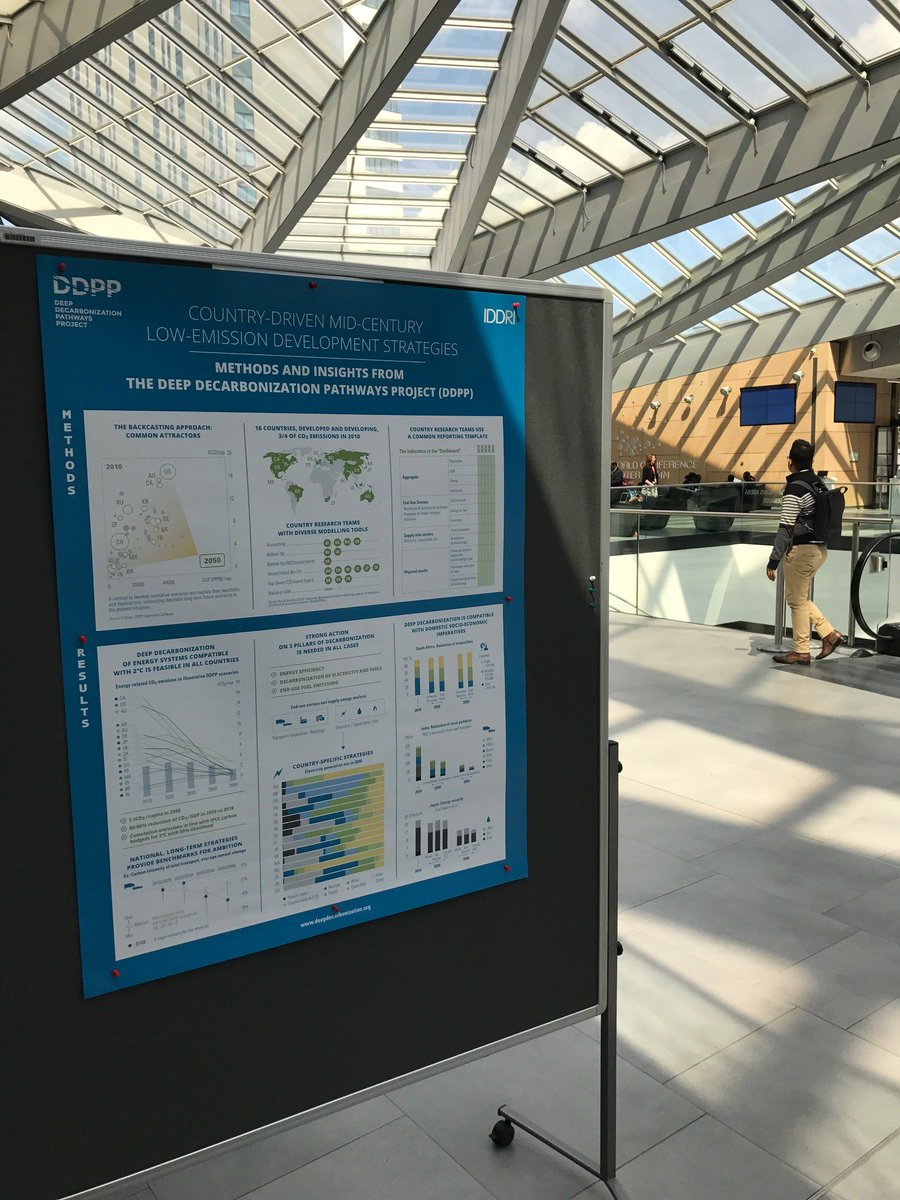 Low-emission strategies: insights from #DDPP ⎜@UN Climate Change Conference! #SB46 #SBSTA @UNFCCC ⎜ http:// bit.ly/2pv40co  &nbsp;  <br>http://pic.twitter.com/tdbLOi7S5u