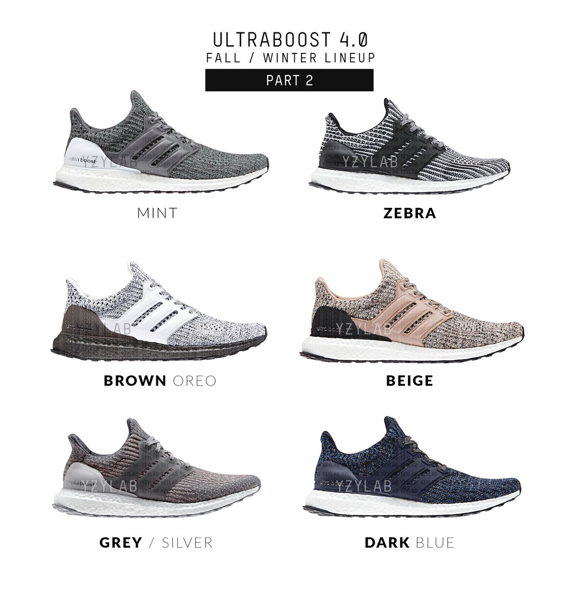 996732af2dc Ultraboost 4.0 Fall   Winter Lineup Part 2   Sneakers