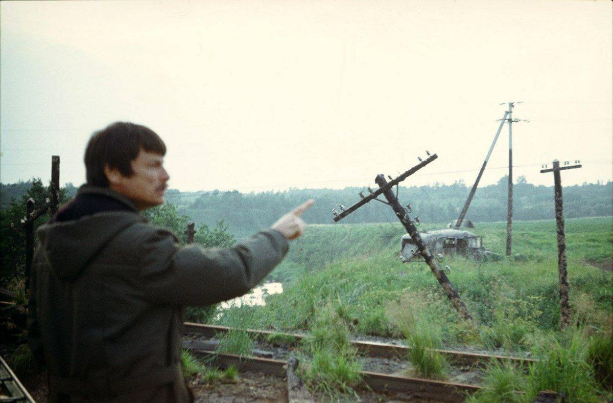 Andrei Tarkovsky behind the scenes of STALKER. #nowplaying https://t.co/YJPa4cplfw