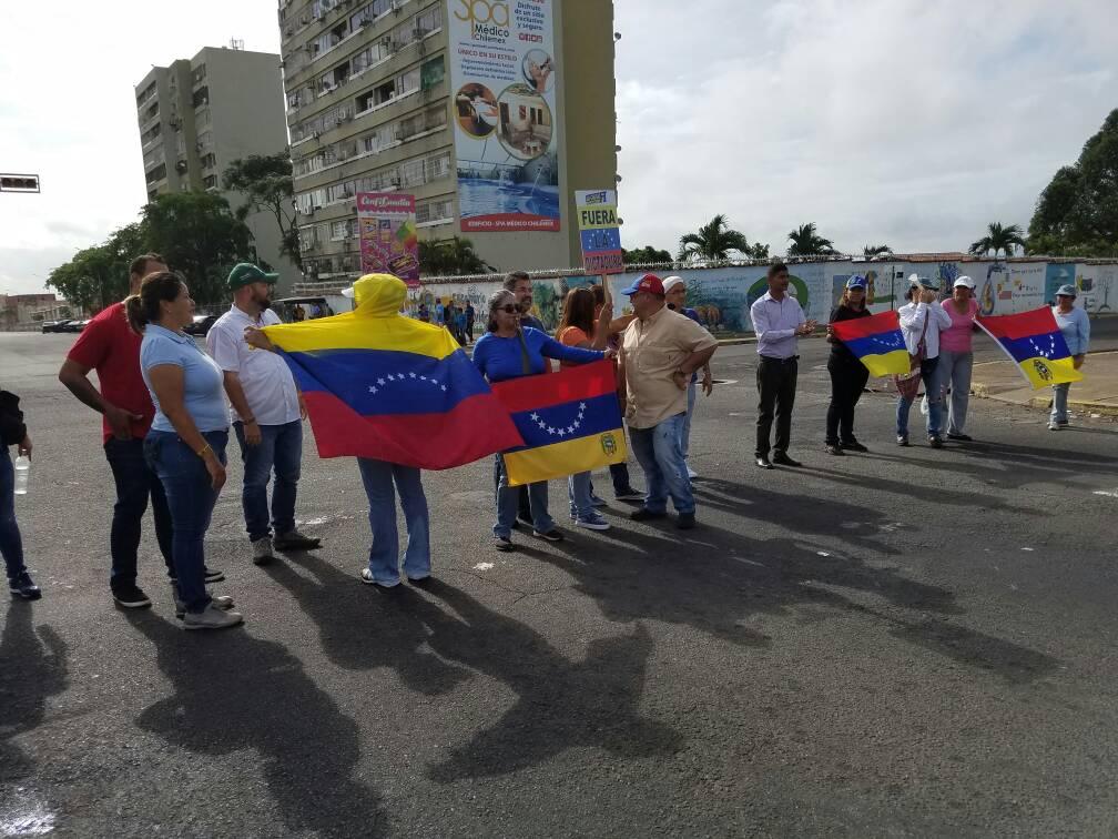 Sit-in in Guayana