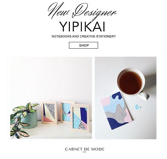 Shop creative notebooks from @Yipikai_Yay brand on @CarnetDeMode ! : https://t.co/FJjJfcJazH https://t.co/3GRJdJSmwS