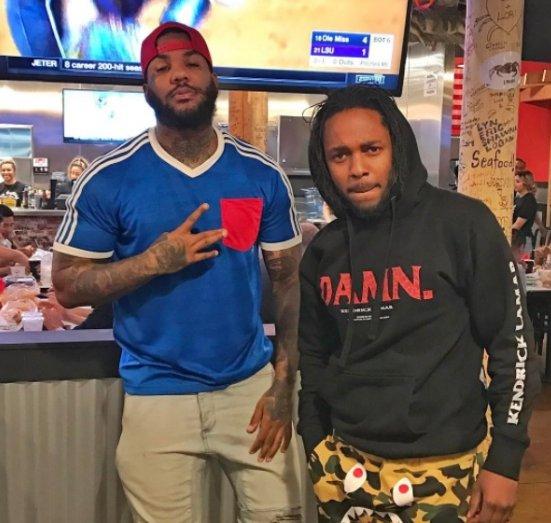 """Kendrick Lamar sera présent sur """"Westside Story"""" le nouvel album de The Game #WestsideStory #TheGame #KendrickLamar pic.twitter.com/DKgdTxLLpc"""