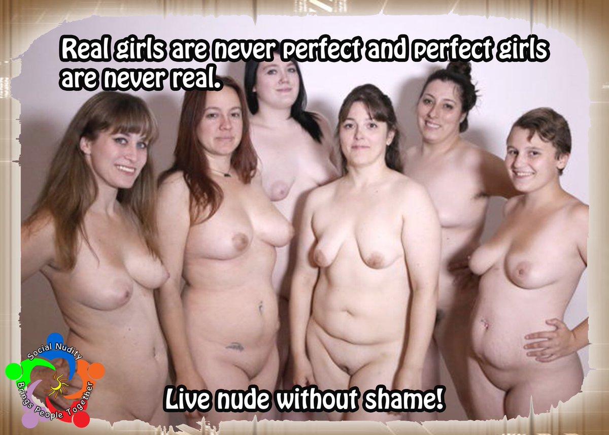 Simple nude women group