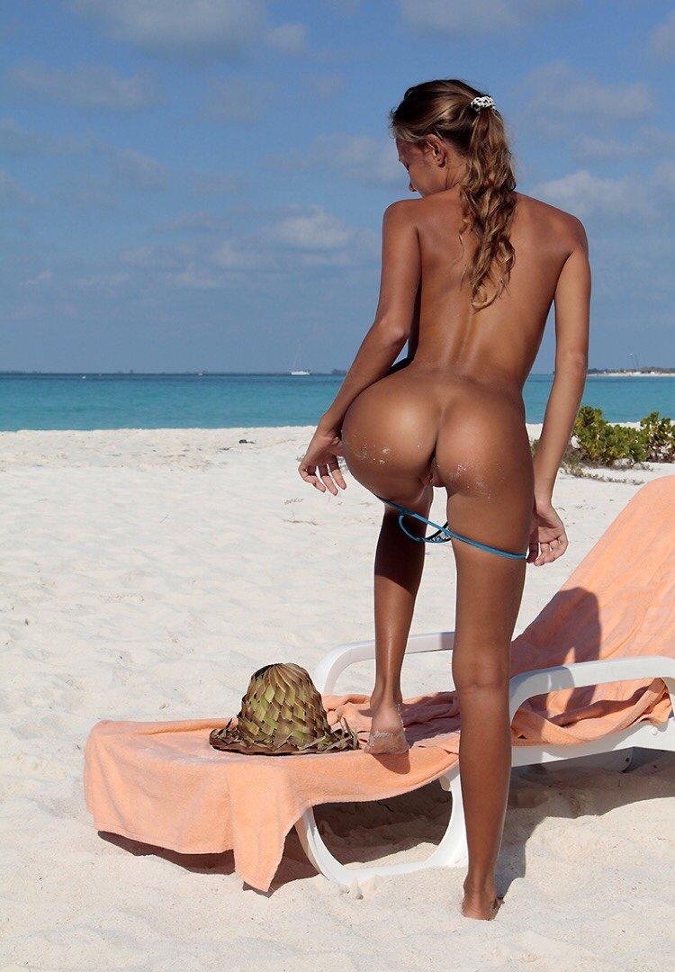 Butt Plug At The Beach