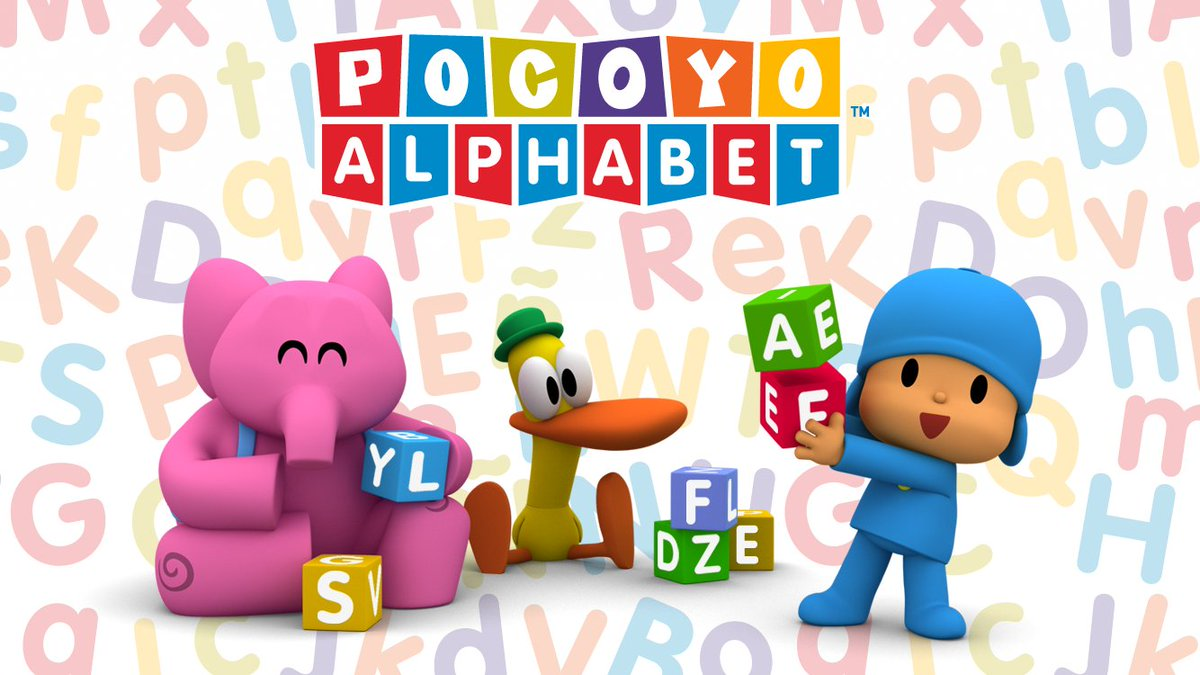 pocoyo on twitter pocoyo alphabet is the funniest app to learn the
