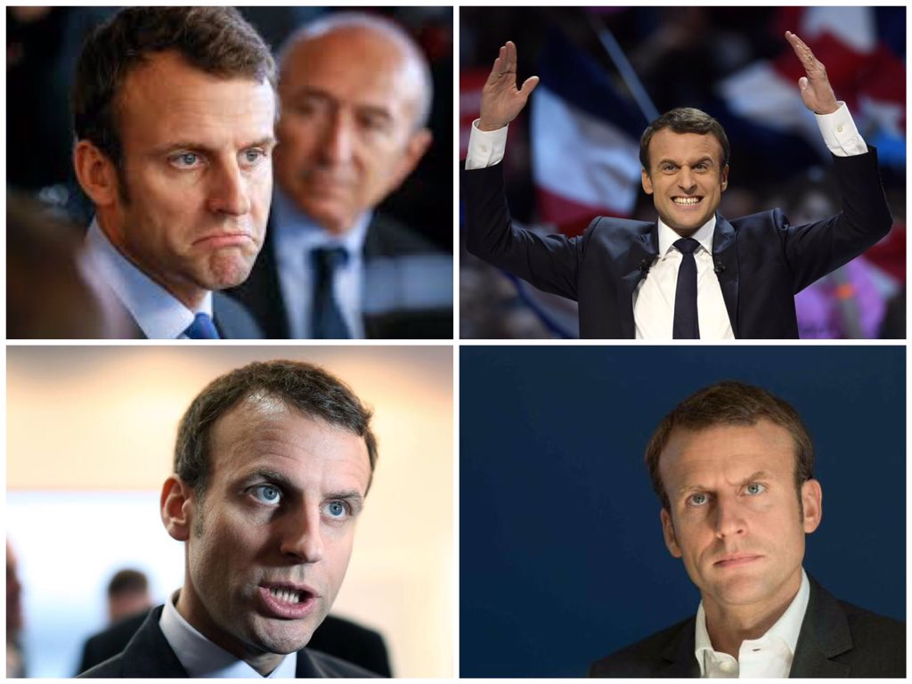 @POLITICOEurope Equally stupid photos of #macron here are 4 your #photojournalism editor could have used Objective #journalism matters or #fakenews merited