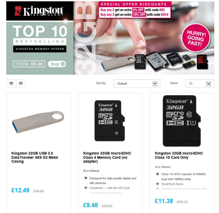 @Kingstontech 32GB Flash memory special  http:// ow.ly/NYu430bIZqE  &nbsp;   RT #Follow #Win Save Share  #MultiBuy any 2/3 Extra 5/10% off  @DailyDealsUk<br>http://pic.twitter.com/1aznk2EcbN