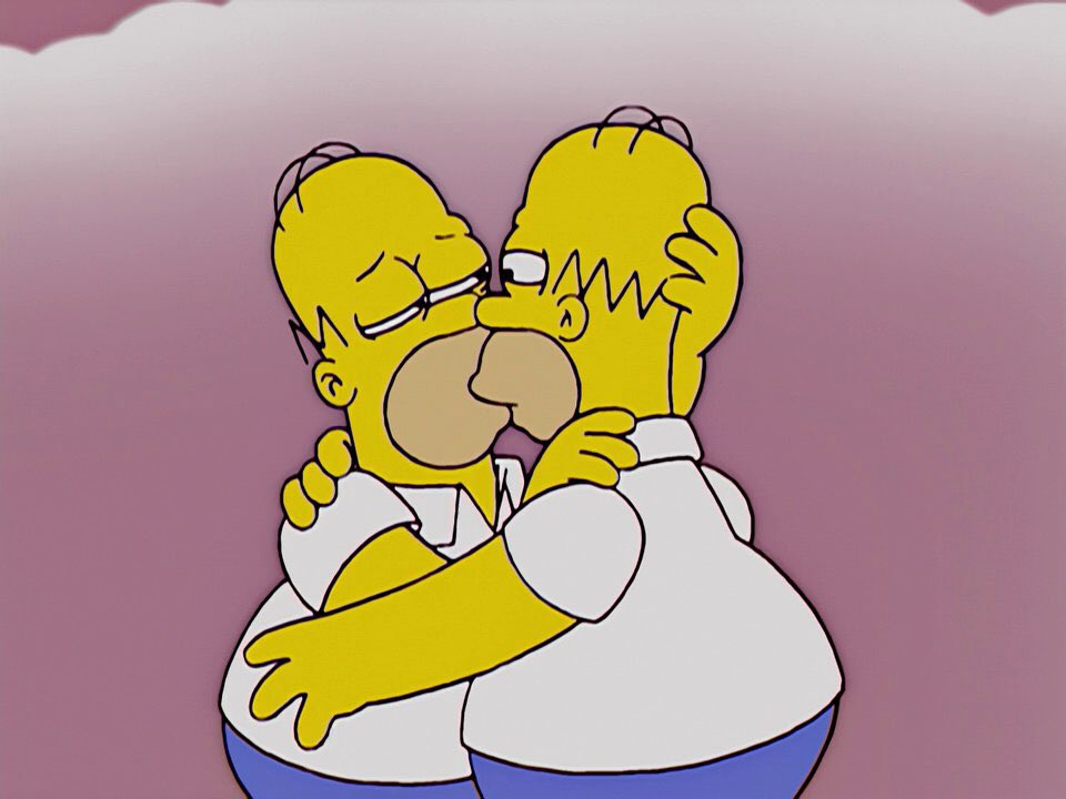 Homer is gay