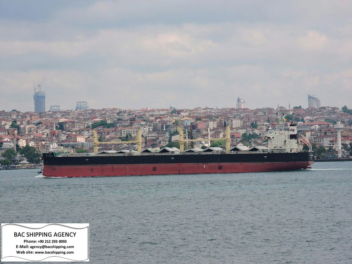 M/V TAI SPLENDOR  #truelove lady during her #bosphorusstrait north-bound #transit under our #agency attendance..#bacshipping #BAC 15/05/2017 <br>http://pic.twitter.com/M8yrn7cpO0
