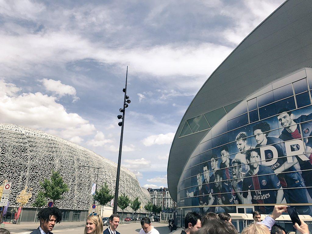 #StadeJeanBouin and #ParcDesPrinces&#39;s proximity will create a unique celebratory atmosphere at #Paris2024 <br>http://pic.twitter.com/tZW7ErdcTl