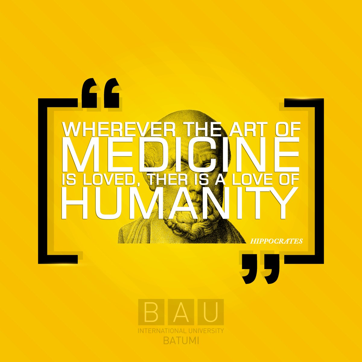 For future students  #bau  #bauintbatumi #inspirationquotes #medicine #medicinequotes #students #studentslife #futurestudents @CoskunInce<br>http://pic.twitter.com/6tgAcYTPx3