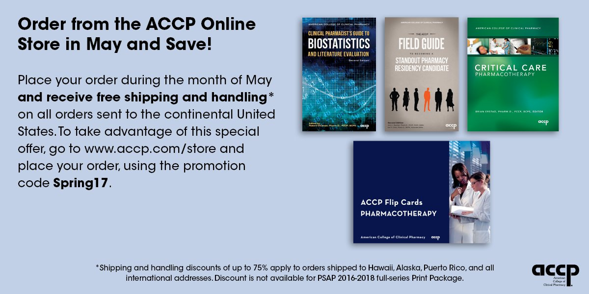 Accp on twitter use promo code spring17 to get free or reduced 1201 pm 15 may 2017 m4hsunfo